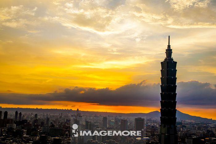 台北,台湾,亚洲,台北101,