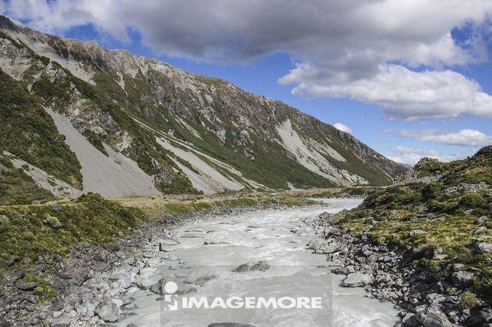 新西兰,库克山,胡克谷步道,