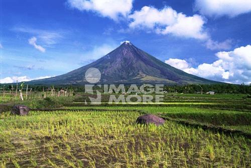 Mayon  Volcano, Legaspi, Philippines