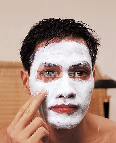 Filipino man health & beauty