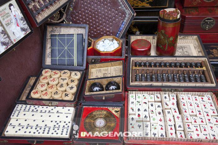 麻将,算盘,象棋,棋盘游戏,上海,中国,亚洲