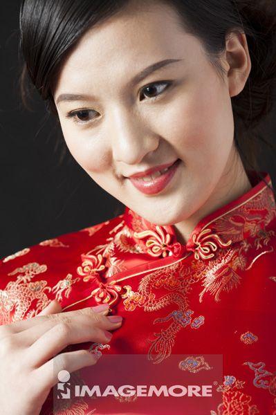 女性,旗袍,中国风
