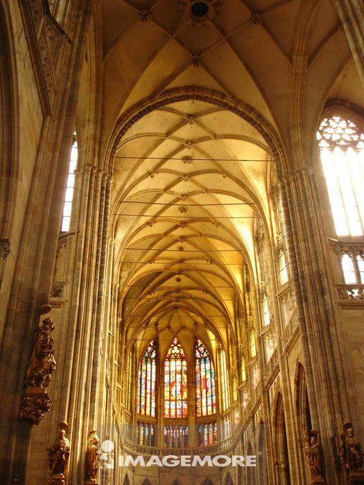 捷克,布拉格,圣维塔大教堂,