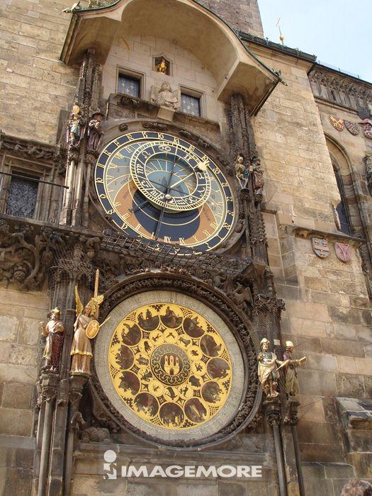捷克,布拉格,天文钟,