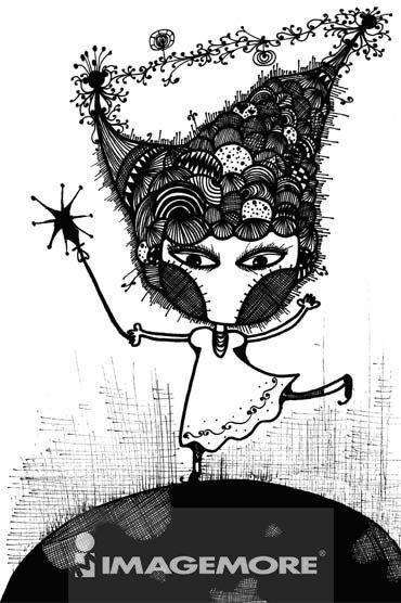 我有魔法,和一双像天线一样的牛角,可以接受所有的讯息和情绪