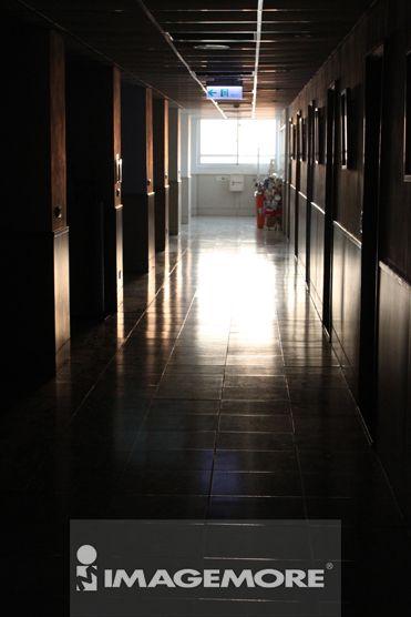 走廊,光影