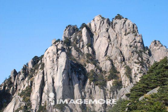 黄山,莲蕊峰,