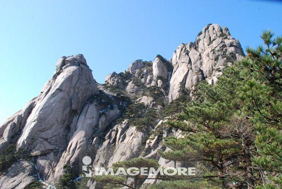 黄山,莲蕊峰远眺,