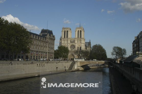 欧洲,巴黎,圣母院