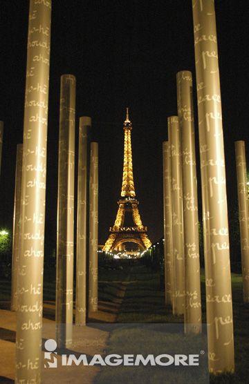 欧洲,巴黎,巴黎铁塔,和平碑