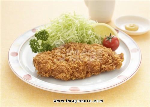 Deep fried pork cutlet