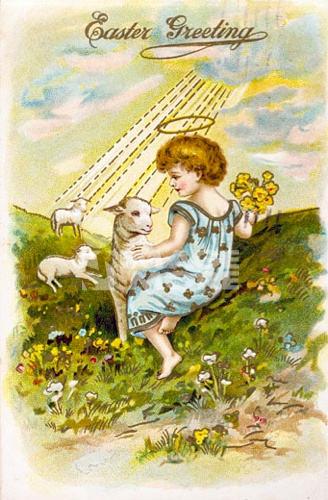 Easter Greetings, Nostalgia Cards