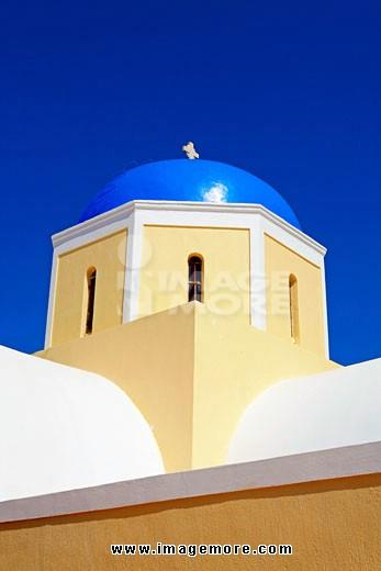 地中海圆顶建筑物