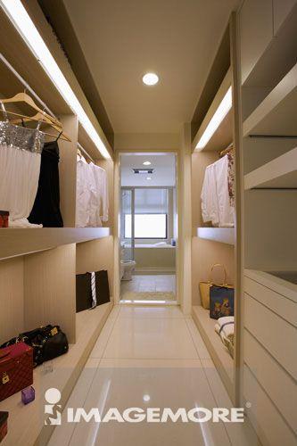 室内空间设计,更衣室