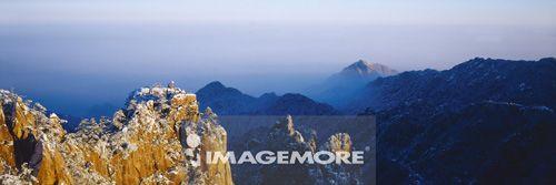 中国,安徽省,黄山,北海,石猴观海