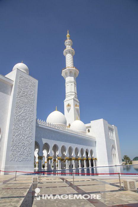 杜拜,阿拉伯联合大公国,亚洲,谢赫扎依德大清真寺,