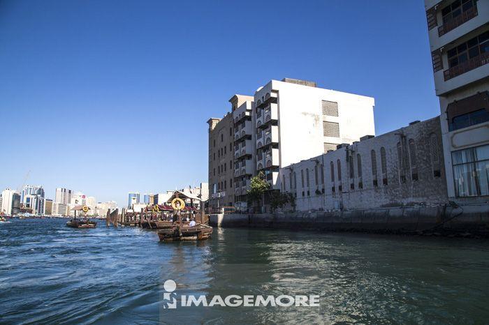 杜拜,阿拉伯联合大公国,亚洲,杜拜港湾,水上出租车,